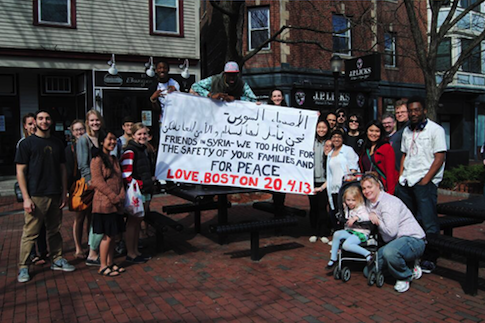 Boston message to Syria