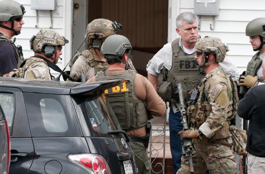 FBI agents in Boston (AP)