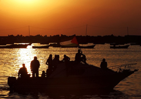 Harbor of Gaza City / AP