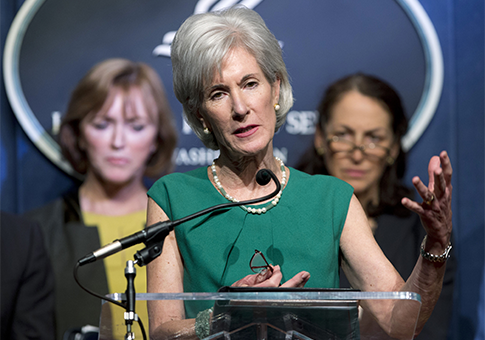 HHS Secretary Kathleen Sebelius / AP