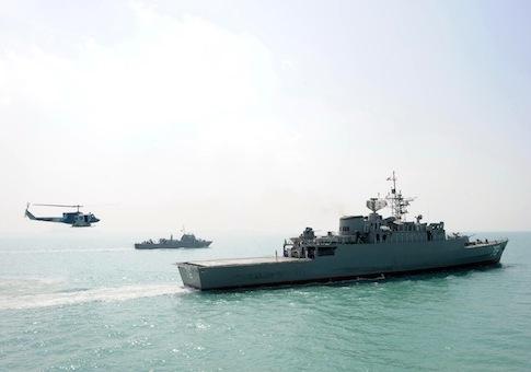Iranian Navy / AP