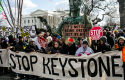 Keystone XL Pipeline protest / AP