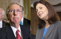 Mitch McConnell, Kelly Ayotte / AP