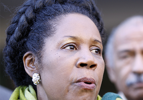 Rep. Shelia Jackson Lee / AP