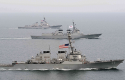 South Korean and U.S. warships in Asia-Pacific region / AP