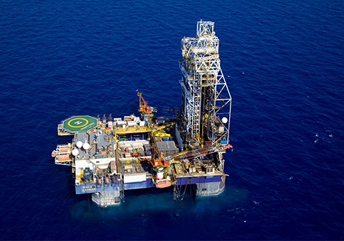 Tamar natural gas rig / AP
