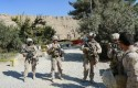 U.S. Marines provide escort at the Kajaki dam in Helmand province in Afghanistan in November 2012 / AP