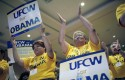UFCW rally for Obama in 2008 (AP)