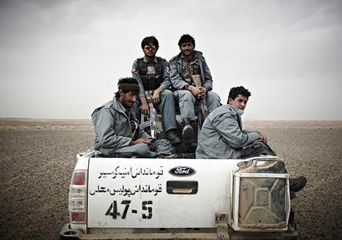 Afghan National Police / AP