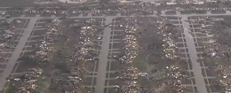 The aftermath of the tornado in Moore, Okla. (The Weather Channel)