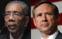 Rep. Rush, Sen. Kirk / AP