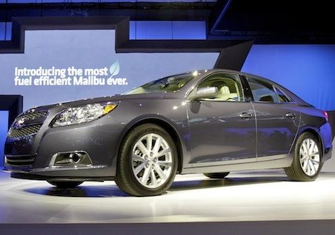 2013 Chevrolet Malibu Eco / AP