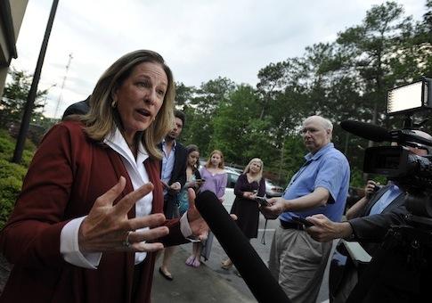 Elizabeth Colbert Busch / AP