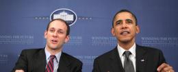 Austan Goolsbee and President Barack Obama / AP