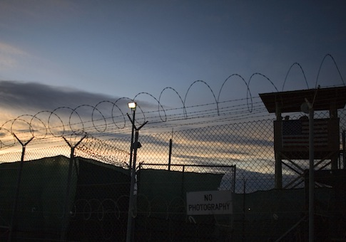 Guantanamo detention facility / AP