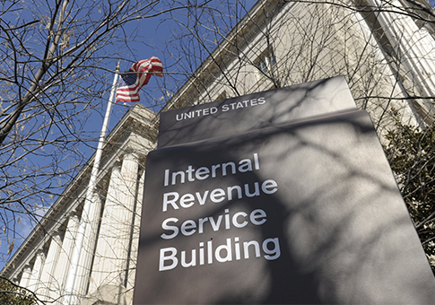 IRS building in Washington / AP