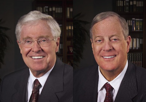 Koch brothers / grist.org