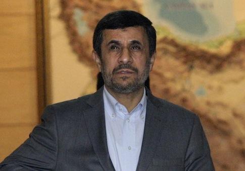 Mahmoud Ahmadinejad / AP