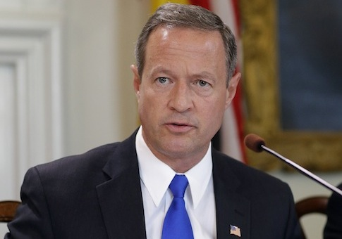 Maryland Gov. Martin O'Malley (D.) / AP