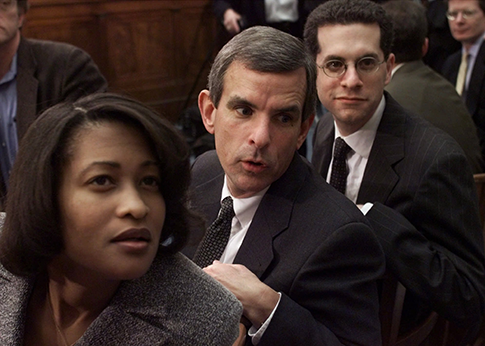 Mills during the impeachment hearings in 1998. (AP)