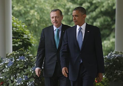 President Barack Obama and Turkish Prime Minister Recep Tayyip Erdogan / AP