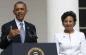 President Obama and Penny Pritzker Thursday. (AP)