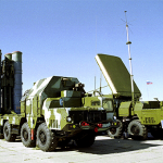S-300 air-defense missiles launcher and guidance station / AP