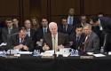 Senate Judiciary Committee  markup immigration reform legislation / AP