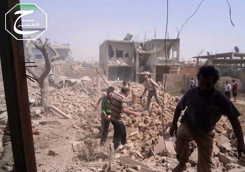 Qusayr, Syria, May 18, 2013 / AP