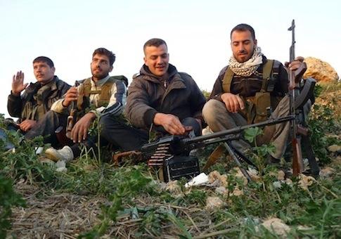 Syrian rebels / AP