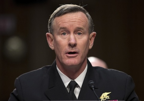 Adm. William McRaven / AP