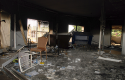 A gutted U.S. consulate in Benghazi, Libya, after Sept. 11, 2012 attack / AP
