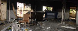 A gutted U.S. consulate in Benghazi, Libya, after Sept. 11, 2012, attack / AP