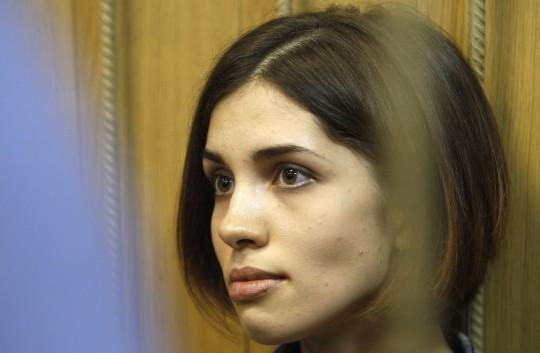 Nadezhda Tolokonnikova (AP)