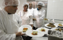 Culinary students at Colors Restaurant in New York / AP