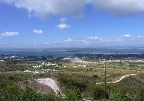 View of the U.S. Naval Station base in Guantanamo Bay / AP