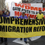 Immigration reform supporters march in San Francisco / AP