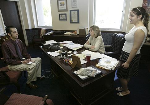 Interns with Rep. Dina Titus (D., Nev.) / AP