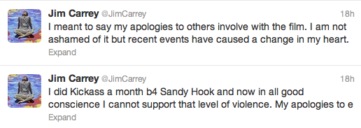 Jim Carrey Tweets