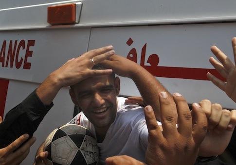 Mahmoud Sarsak / AP