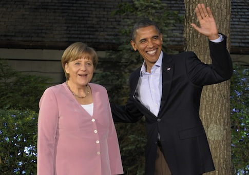 Angela Merkel, Barack Obama / AP