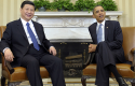 Obama and Chinese President Xi Jinping / AP