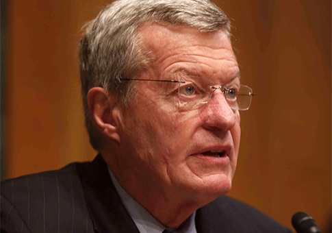 Senate Finance Committee Chairman Sen. Max Baucus / AP