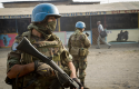 United Nations peacekeepers patrol DRC / AP