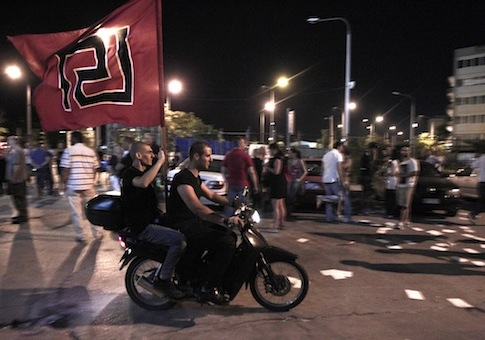 Neo-Nazi party, Golden Dawn / AP