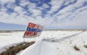 The proposed Keystone XL pipeline will run through this field / AP