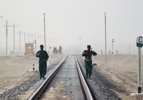 Afghanistan Railroad / AP