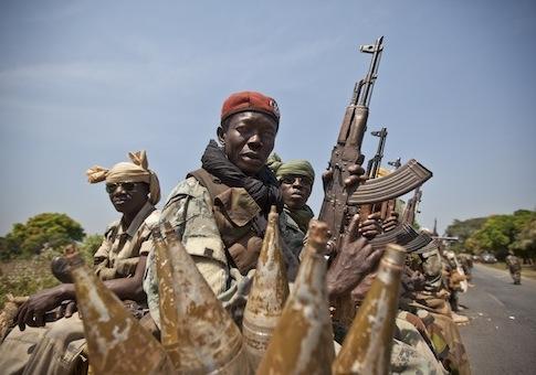 Chadian soldiers / AP