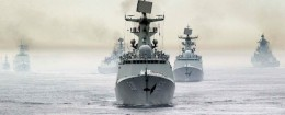 Chinese naval fleet / AP