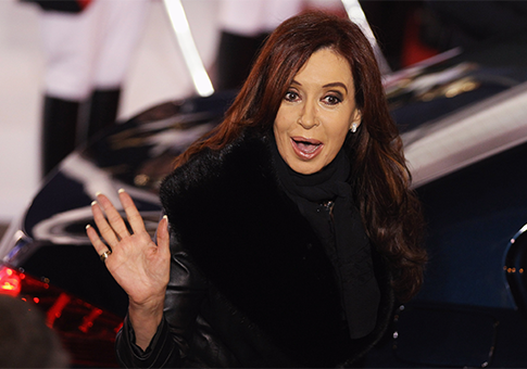 Cristina Fernández de Kirchner / AP